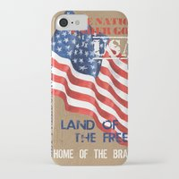 patriotic iPhone & iPod Cases featuring Patriotic Text by Debbie DeWitt