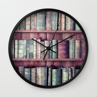 books Wall Clocks featuring books by Claudia Drossert