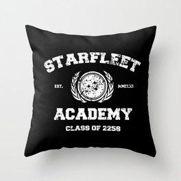Starfleet Academy Throw Pillow