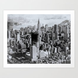 Vintage New York City Art Print