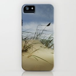 Dune and Beach Grass on Padre Island National Seashore iPhone Case