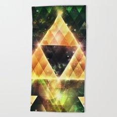 Triforce Beach Towel
