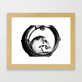 Head Bang Framed Art Print
