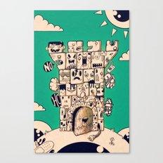 man castle Canvas Print