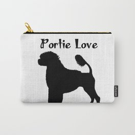 Portuguese Water Dog Portie Love  Carry-All Pouch