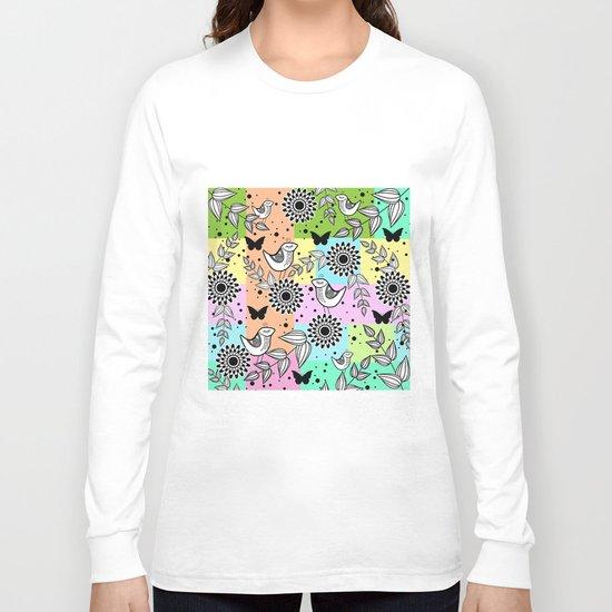 Pattern S Long Sleeve T-shirt