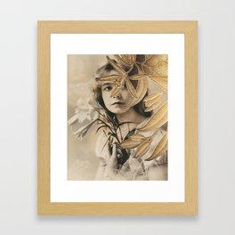 The Gilded Lillian Framed Art Print