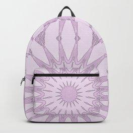 Lavender Pinwheel Flowers Backpack