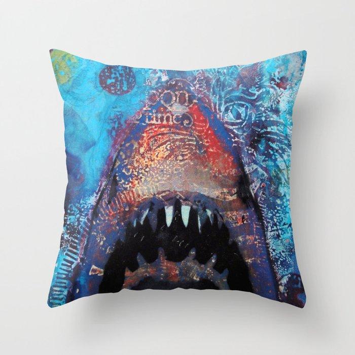 Great Whitey Throw Pillow