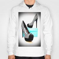 shoe Hoodies featuring Shoe Lust by 2sweet4words Designs