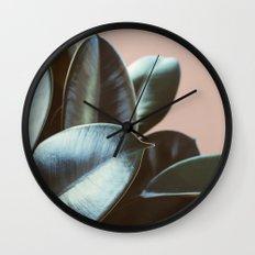 Ficus Elastica #2 Wall Clock