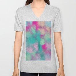 Abstract 3 Unisex V-Neck