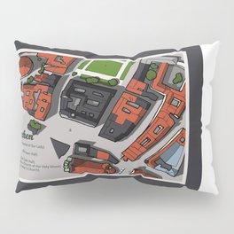 Hand-Drawn Munich Pillow Sham