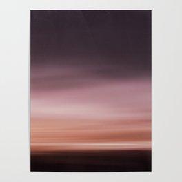 Landscape red (moving) Poster