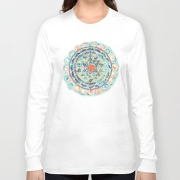 Samaya Sri Yantra Long Sleeve T-shirt
