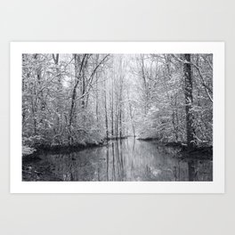 Man vs. Nature: Flood Art Print