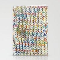 knit Stationery Cards featuring Knit Pattern  by Manuela Mishkova