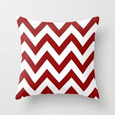 SOONER CHEVRON Throw Pillow