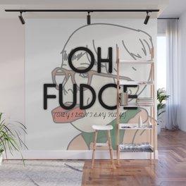 OH FUDGE Wall Mural
