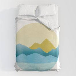 Ode to Pacific Northwest 1 Duvet Cover