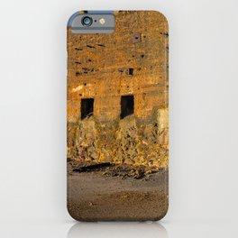 Decayed Mine structure in Alentejo iPhone Case