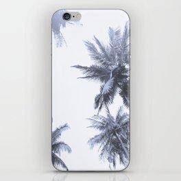 California Dreamin' in Blue iPhone Skin