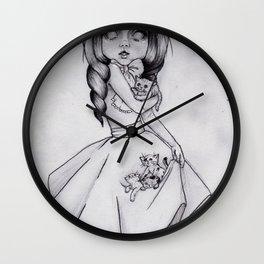 Princess Felis Wall Clock
