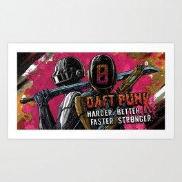 Daft Lands Art Print