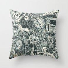 N.A.S.A. Control Throw Pillow