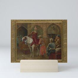 Edwin Lord Weeks (1849-1903), The Grand Vizier. Mini Art Print