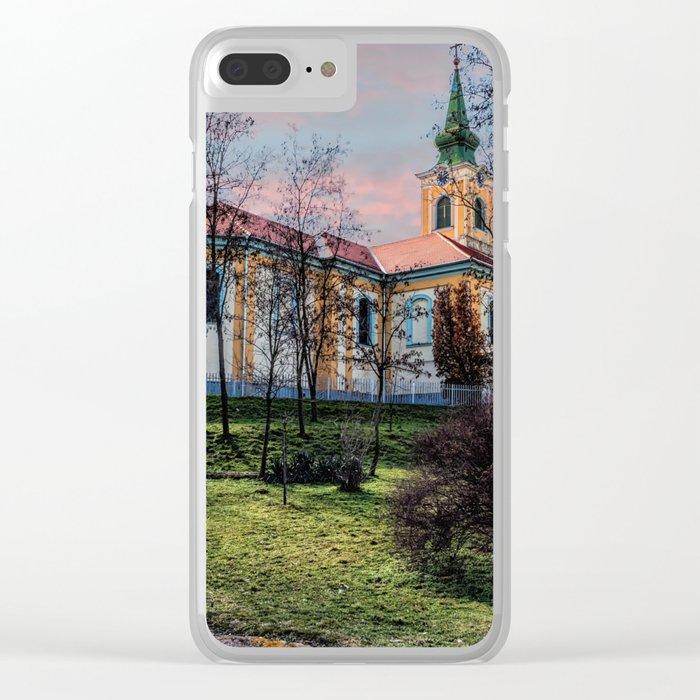 Hungary - Szakmar - Church Clear iPhone Case