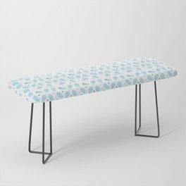 Ghosty pattern Bench