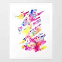 Watersplat - Series 1, 07 Art Print
