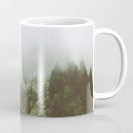 The Mist in Alps Coffee Mug