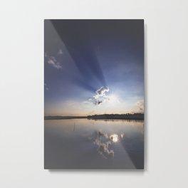 Shadow Rays Metal Print