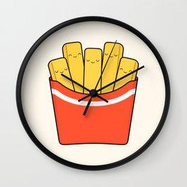 Best Fries Wall Clock