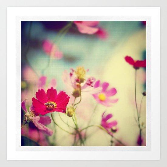 Whispers (Instagram) Art Print