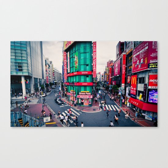 Tokyo Structures Canvas Print