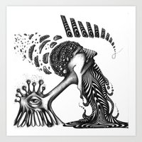 PSYKE Art Print