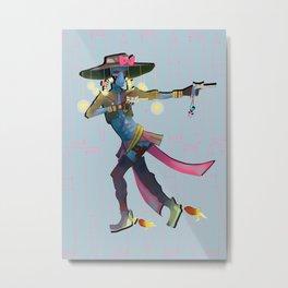 Sailor Bane Metal Print