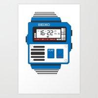 Seiko Watch Art Print