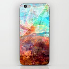 Beautiful Inspiring Underwater Scene Art iPhone Skin