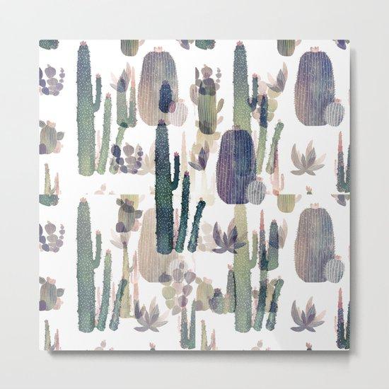 cactus mirror 2 Metal Print