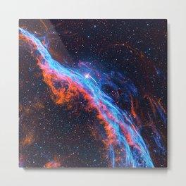 Nebula and stars Metal Print