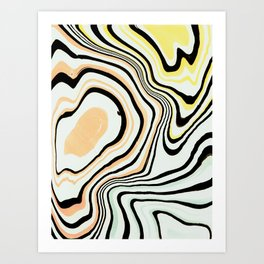 A Memory of Earth Art Print