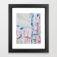 Summer Bay Framed Art Print