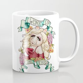 Miss Piggy - I woke up like this Coffee Mug