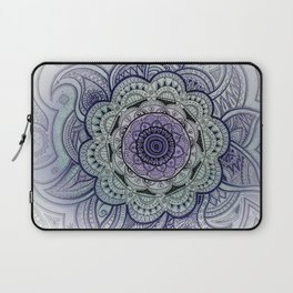 Mandala Violet Laptop Sleeve