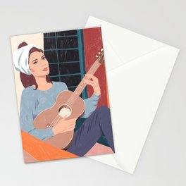 Moon River - The balcony song Stationery Cards
