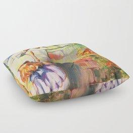 Alice Meeting Humpty Dealer Floor Pillow